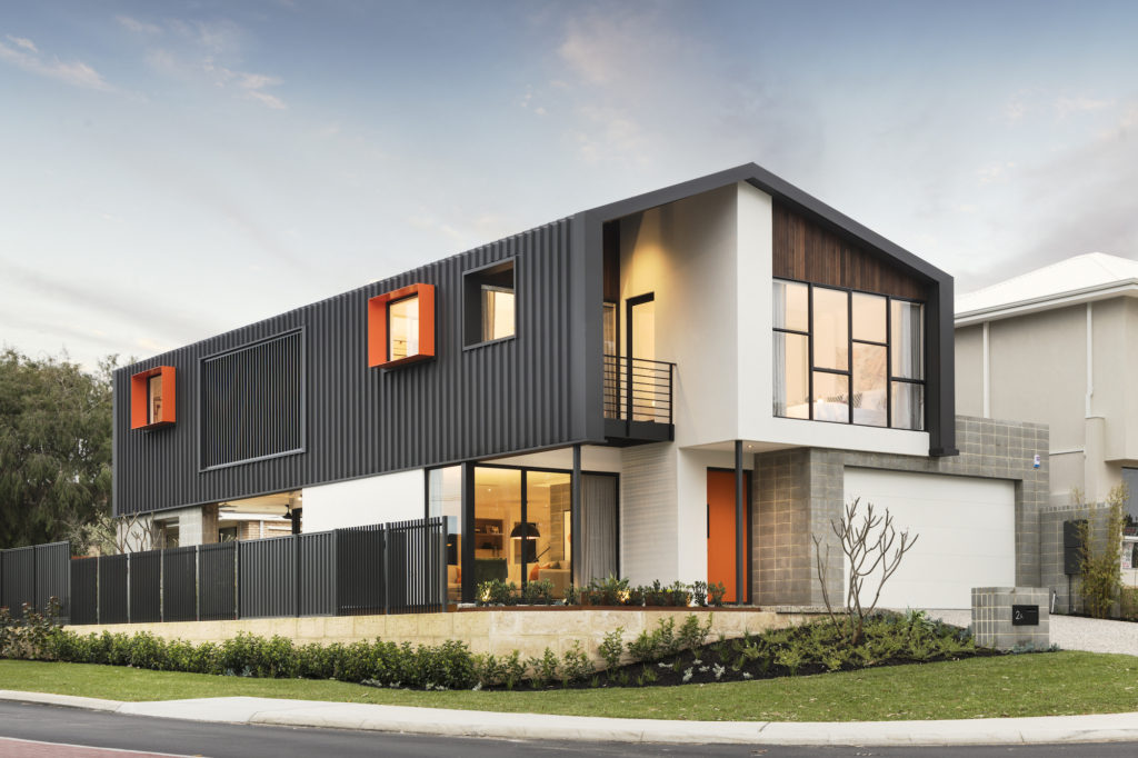 The Barnhaus Industrial Style Home Design