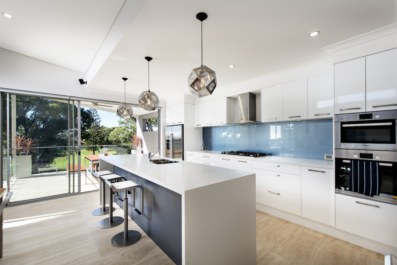 Residential Attitudes - Modern open-plan kitchen