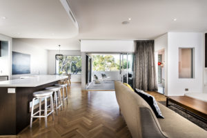 Residential Attitudes - Empire display home open-plan lounge