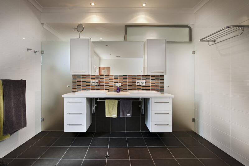 Residential Attitudes - Bathroom with double basins