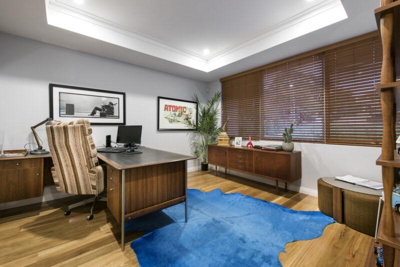 Residential Attitudes - Retro office
