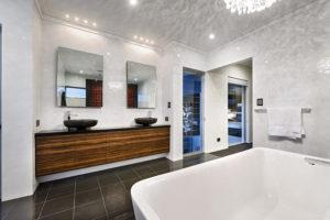 Residential Attitudes - Double volume bathroom