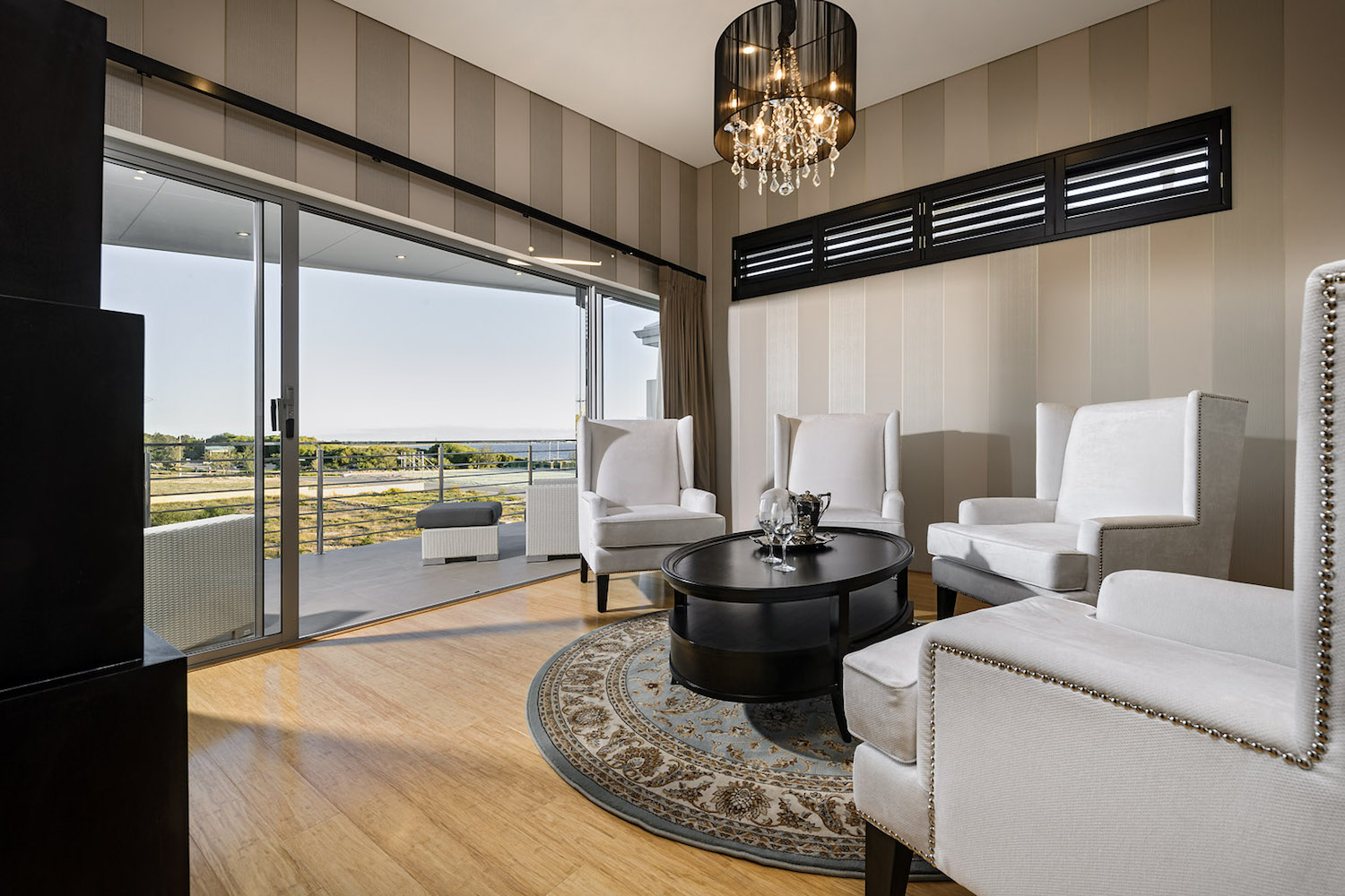 Residential Attitudes - Mizu display home - upstairs living area