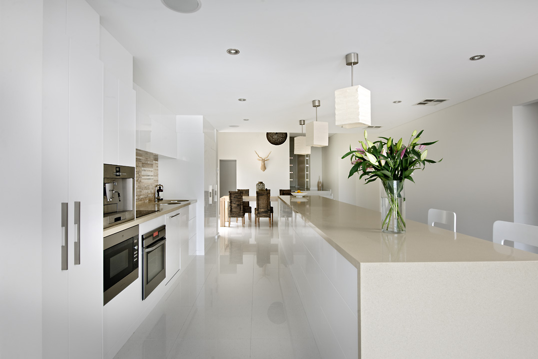 Residential Attitudes - clean minimalistic kitchen