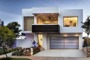 Residential Attitudes - Empire display home - outside front view