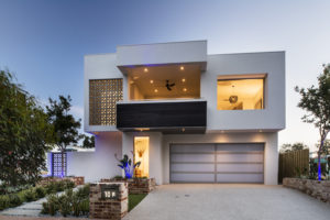 Residential Attitudes - Empire display house - exterior view