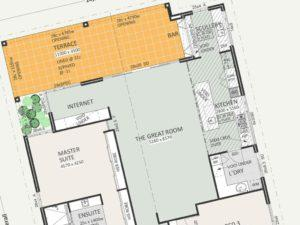 Residential Attitudes - Cubo detailed floor-plan