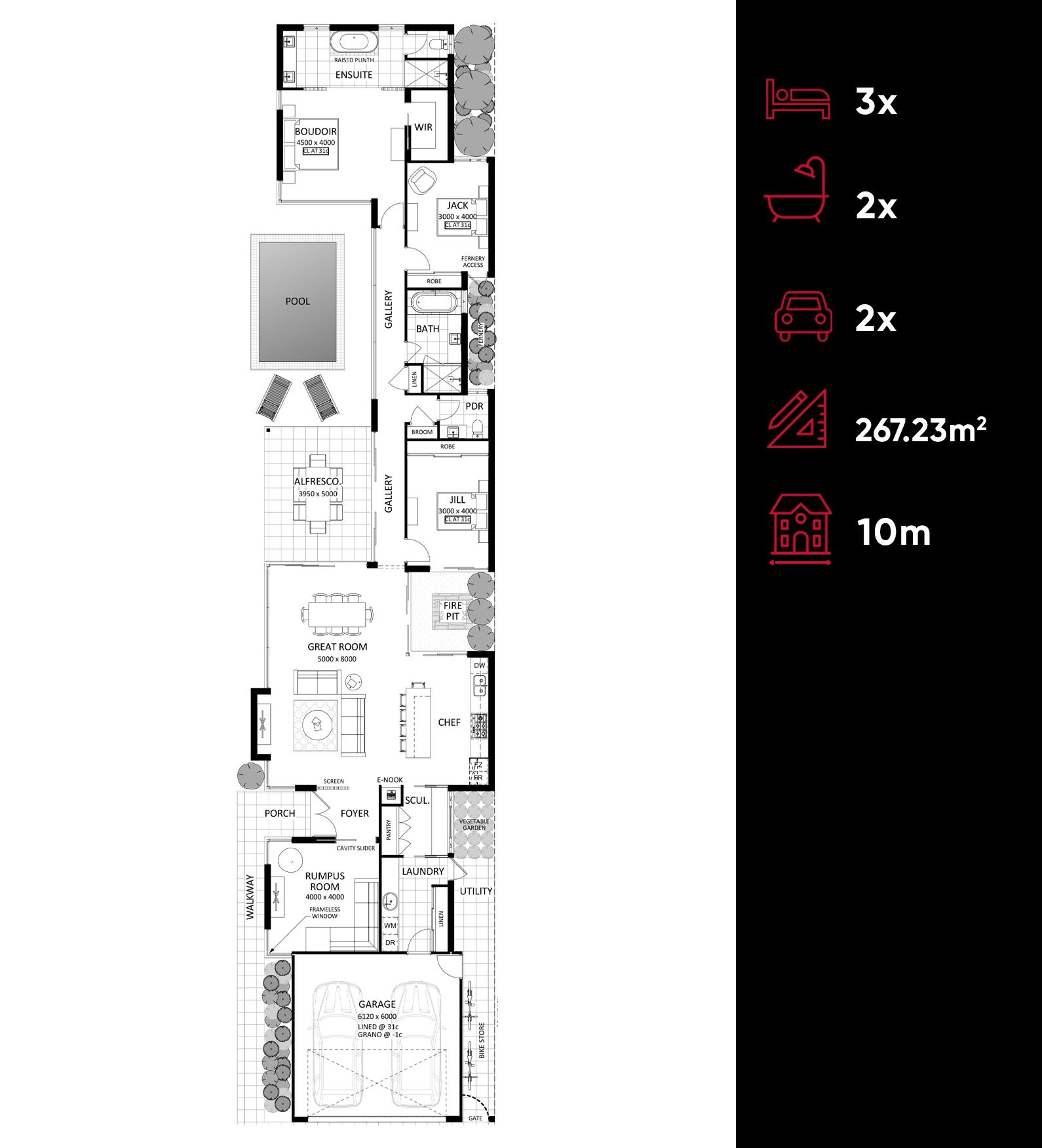Lugano floor plan