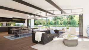 Residential Attitudes - Fresno open plan house