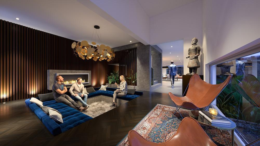 Why you need a conversation pit Residential Attitudes
