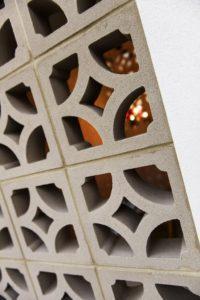 Residential Attitudes - Breeze Blocks closeup