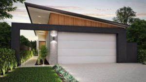 Residential Attitudes - Holbeak garage and garden