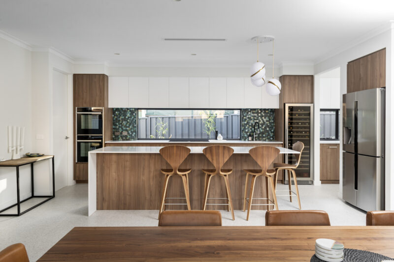 Kitchen in Coolbinia Custom Home