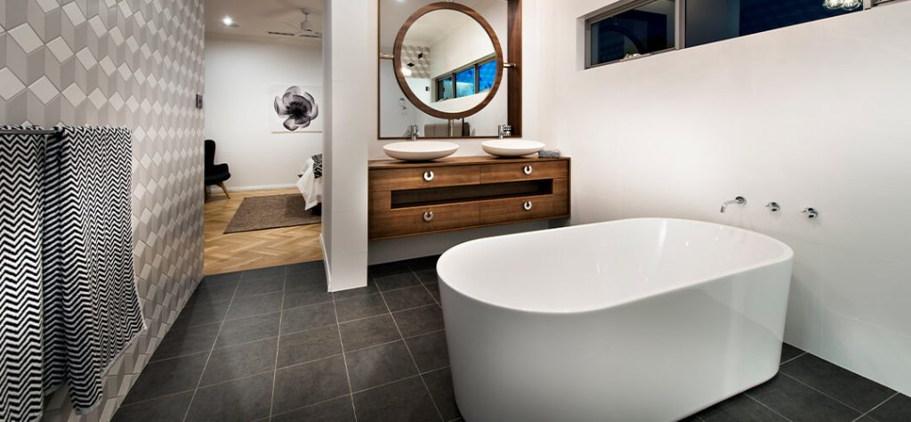 Residentials Attitudes Custom Home Empire Bathroom design